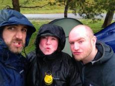 Me, KJB and DMcR camping