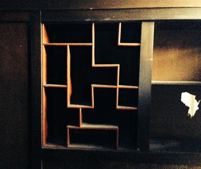 Tetris cupboard